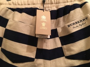 Burberry Off White/Navy Shorts/Swim Shorts Groomsman Gift