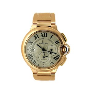 Cartier Cartier Ballon Bleu Chronograph Watch Rose Gold - W6920010