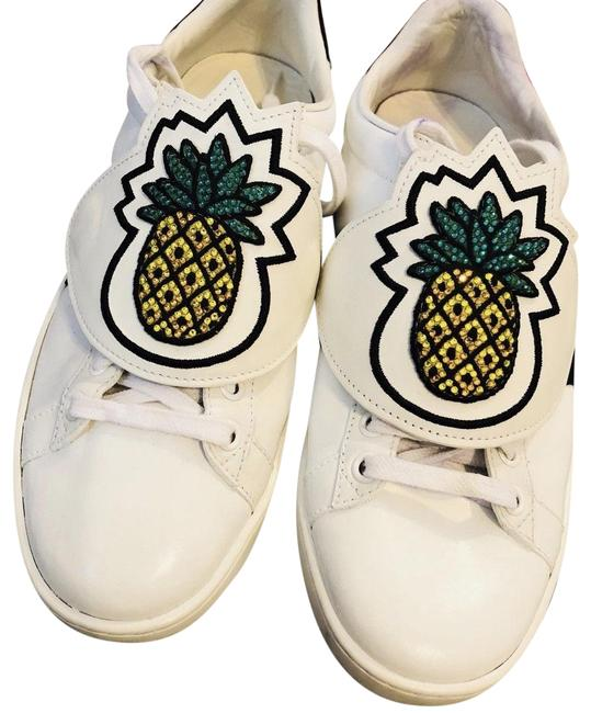 Gucci White Pineapple Patch Ace 36.5