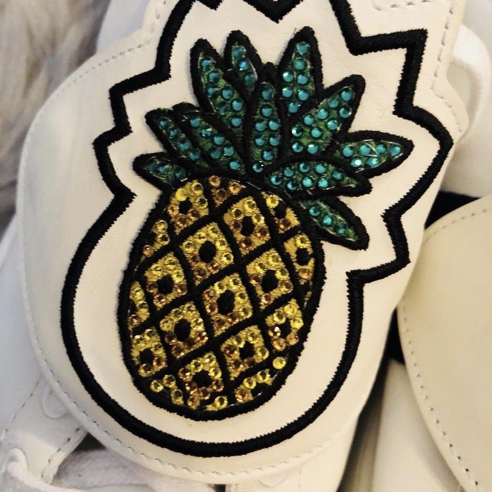 a48a248dd Gucci Ace Sneaker Sneakers Women Pineapple Pineapple Ace White Athletic  Image 8. 123456789