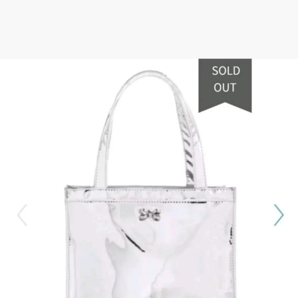 02753d2d9be Ted Baker London Doracon Small Icon Silver Tote - Tradesy