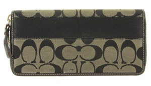 Coach Coach Monogram Zip Wallet