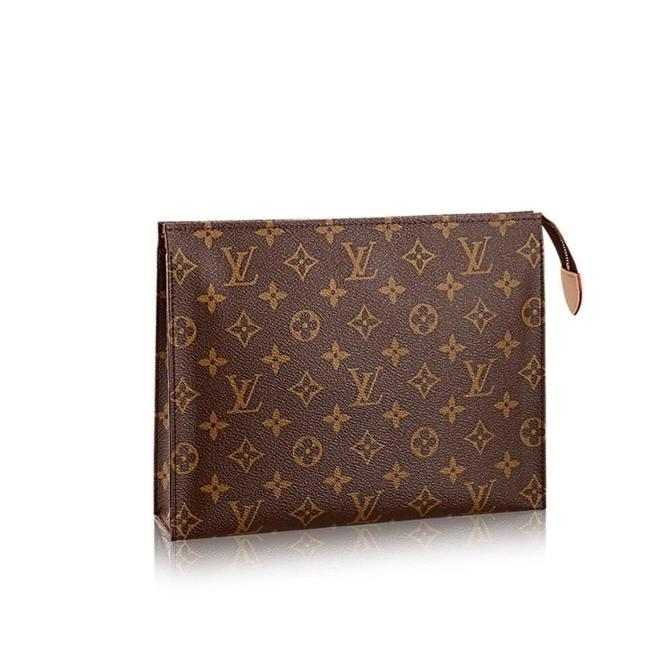 Item - Brown Toiletry Pouch 26 Monogram Cosmetic Bag