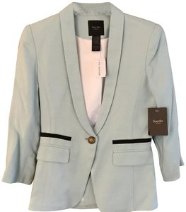Smythe Brass Buttons Tiffany Blue Blazer