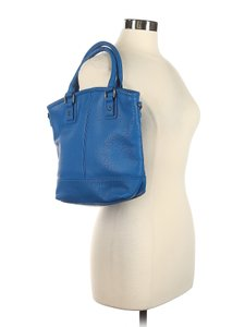JK by Thirty-One Pebbled Leather Top Handle Shoulder Hobo Bag