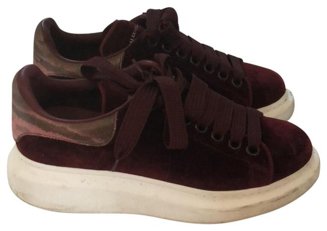 Item - Burgundy Velvet Sneakers Size EU 37.5 (Approx. US 7.5) Regular (M, B)