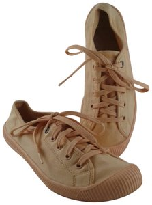 Palladium Sneakers Canvas Melon Lace Apricot Athletic