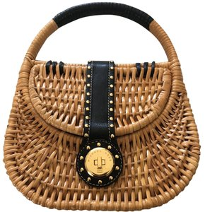 cfff9ed7e093 MICHAEL Michael Kors With Handle. Gold Details Brown and Black ...