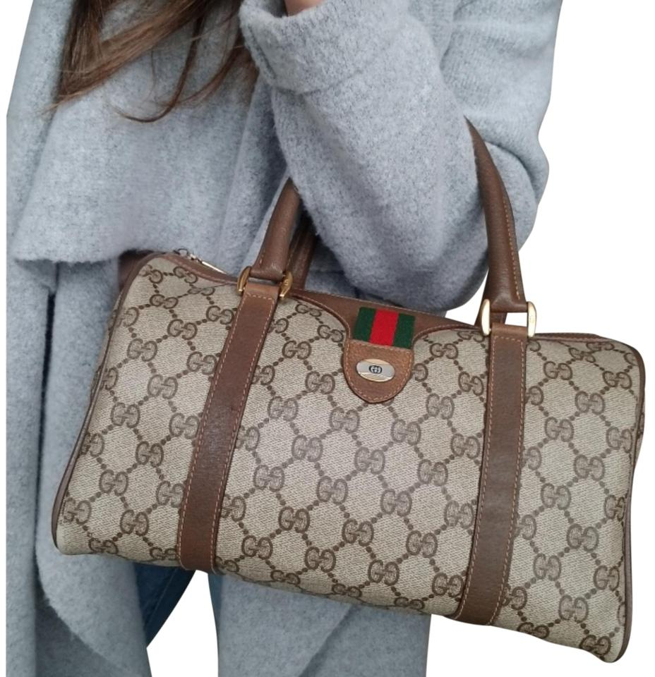 86ee6beac8de Gucci Vintage Vintage Vintage Vintage Purse Ophidia Satchel in Brown Image  0 ...