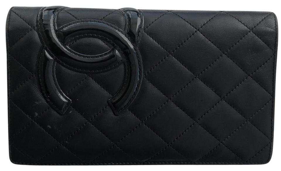 0bae514816b0 Chanel chanel calfskin quilted ligne cambon yen wallet Image 0 ...
