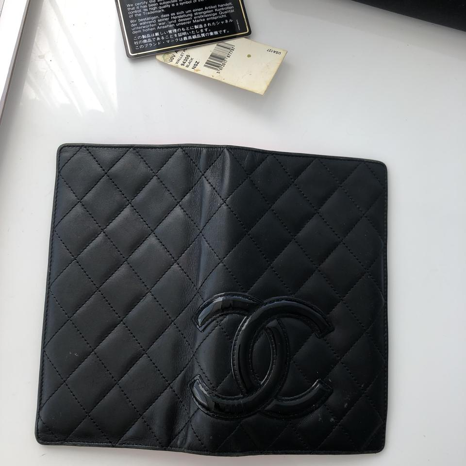 dfb28061eb80 Chanel chanel calfskin quilted ligne cambon yen wallet Image 5. 123456