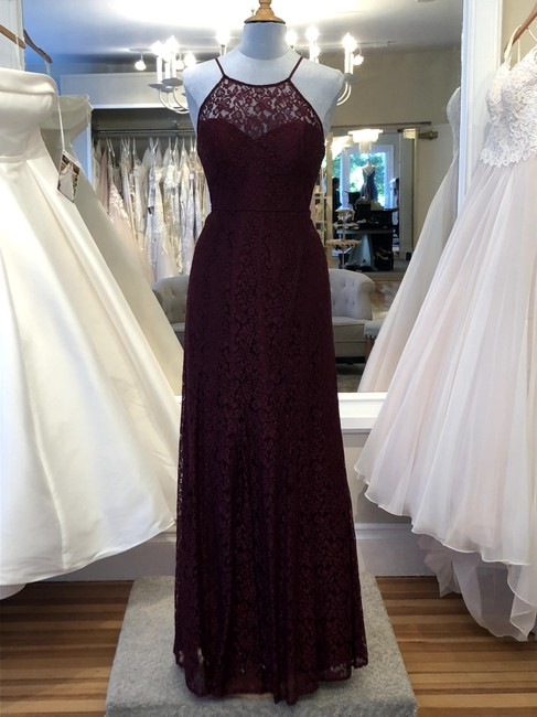 Item - Cabernet Lace Nadya Formal Bridesmaid/Mob Dress Size 10 (M)