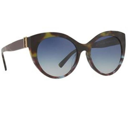 Burberry Women Cat Eye Acetate Frame with Blue Sunglasses Image 1