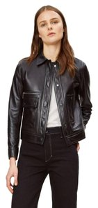 Helmut Lang black Leather Jacket