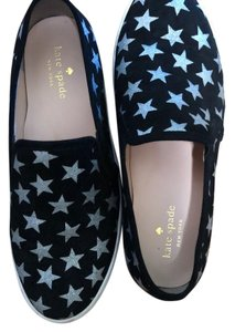 Kate Spade black with silver stars Athletic