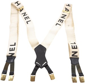 Chanel Logo Suspenders