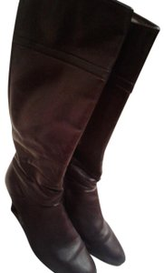 "Gabor Leather Upper Leather Outsole Inside Zipper Made In Austria Heells 2.5"" purple Boots"
