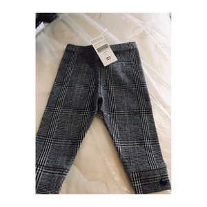 Amelia black/white Glen Plaid Leggings