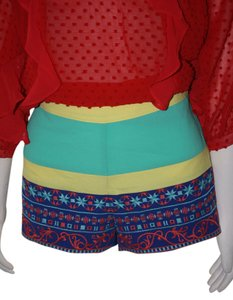 Flying Tomato Mini/Short Shorts GREEN, YELLOW, BLUE,