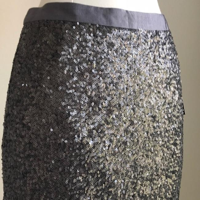 Pure Collection Skirt Grey Image 1