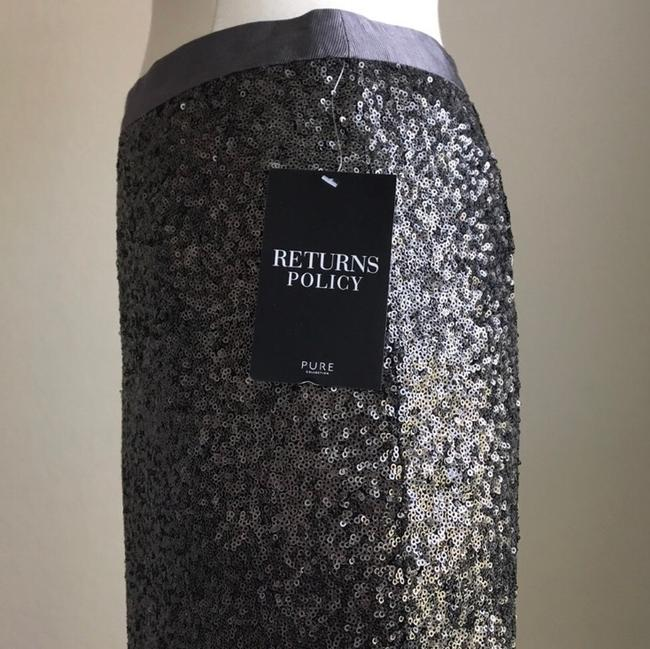 Pure Collection Skirt Grey Image 7