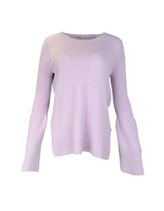Stella McCartney Side Slits Stripe Collar Polo Sweater