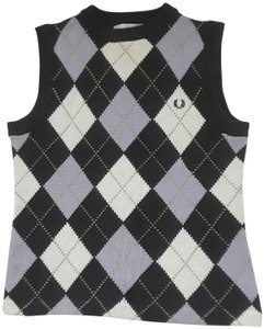 Fred Perry Vest Lavender Sweater