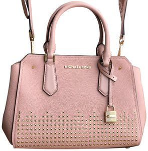 8fba68492631 Michael Kors Satchel in Pastel pink · Michael Kors. Studded Medium Pastel  Pink Leather Satchel