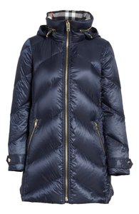 Burberry Puffer Classic Eastwick Zip Up Coat