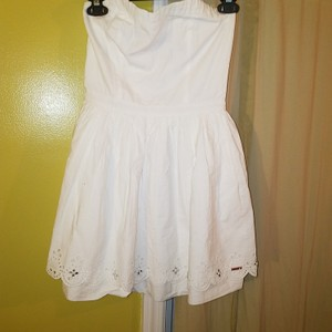 Super Dry short dress White on Tradesy