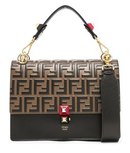Fendi Kan I Kan I Brown Shoulder Bag