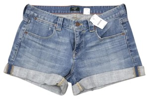 J.Crew Cuffed Shorts blue