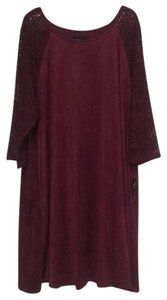 Burgundy Maxi Dress by Ronni Nicole