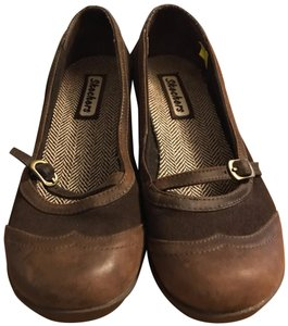 Skechers brown Flats