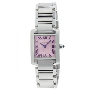 Cartier Cartier Tank Francaise Large Size with Pink Dial - W51008Q3