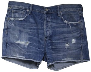 Citizens of Humanity Holes Denim Shorts-Distressed