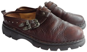 Double-H Boots Brown Mules