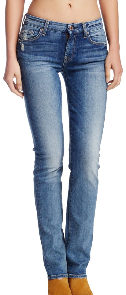 cc726dd442ec31 7 For All Mankind 10387 Kimmie Straight Leg Jeans Size 24 (0, XS ...