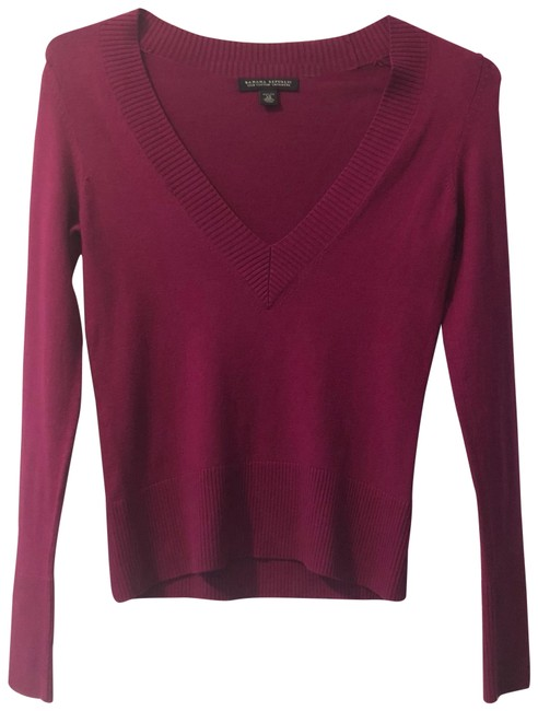 Item - XS V-neck (Silk Cashmere) Pink Sweater
