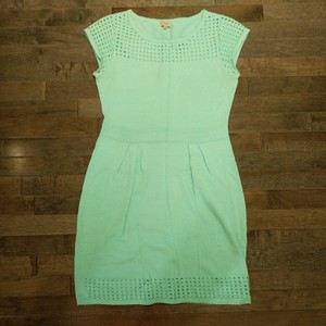 Daniel Cremieux short dress Mint green. on Tradesy