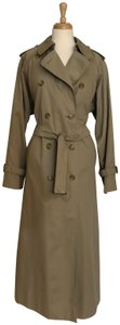Burberry Long Cotton Trench Coat