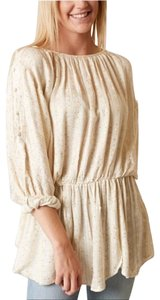Free People Top Cream