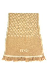 "Fendi ""FF"" Logo, 100% Wool Long (wv)"