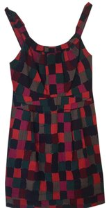 Marc by Marc Jacobs short dress Red, Maroon, Magenta, Navy, Green, Grey on Tradesy