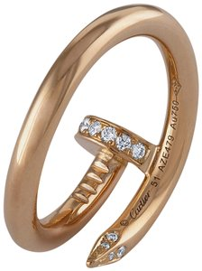 Cartier Cartier 18K Yellow Gold Juste un Clou Diamond Ring Size 5.75