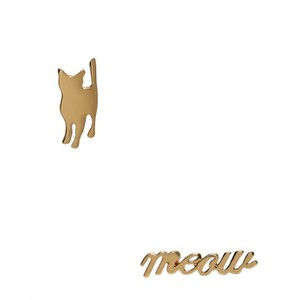 Kate Spade Kate Spade 098686658325 Cats Meow Gold Plated Stud Earrings