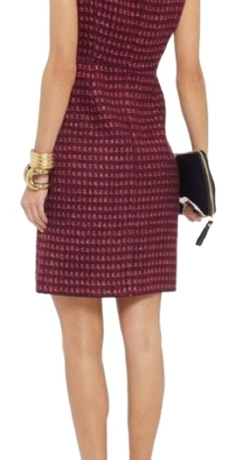 Preload https://img-static.tradesy.com/item/24209117/tory-burch-burgundy-gold-victory-short-workoffice-dress-size-8-m-0-1-650-650.jpg