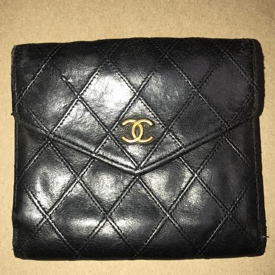 Chanel Bicolore Lambskin Coco Leather Wallet Image 1