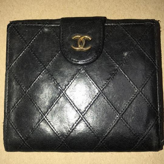 Chanel Bicolore Lambskin Coco Leather Wallet Image 2