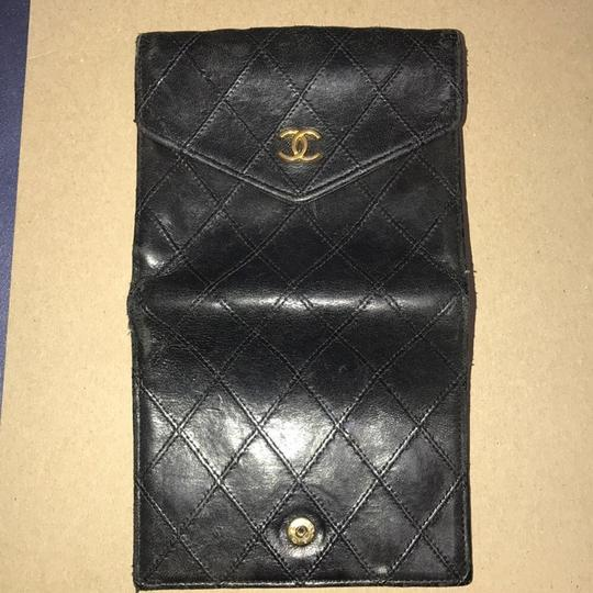 Chanel Bicolore Lambskin Coco Leather Wallet Image 4